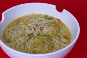Суп-мала с фунчозой и тофу - Фото