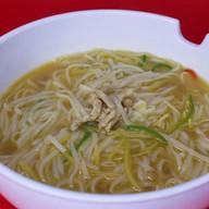 Суп-мала с фунчозой и тофу Фото