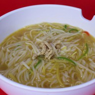 Суп-лапша с морепродуктами Фото