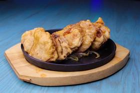 Баклажаны фаршированные на сковороде - Фото