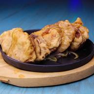 Баклажаны фаршированные на сковороде Фото