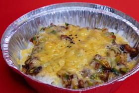 Рис с угрем, авокадо под сырной корочкой - Фото