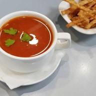 Мексиканский томатный суп Фото