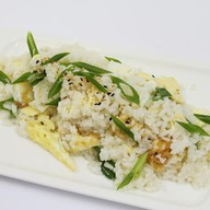 Рис с яйцом Фото