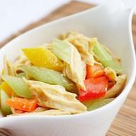 Салат овощной со спаржей Фото