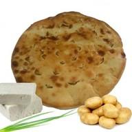 Осетинский пирог с картофелем и сыром Фото