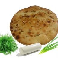 Осетинский пирог с моцареллой Фото
