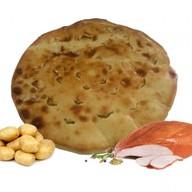 Осетинский пирог с картофелем и курицей Фото