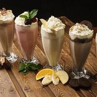 Шоколадный батончик милк-шейк Фото