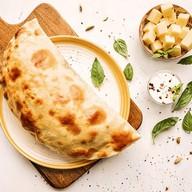 Кутабы с сыром и зеленью Фото