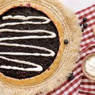 Пирог с черникой и сметаной Фото