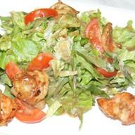 Салат с сельдереем и креветками Фото