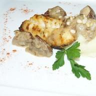 Сиг с картофельным пюре Фото