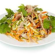 Салат с куриными желудками Фото