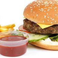 Классический гамбургер Фото