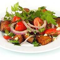 Салат с жареными баклажанами Фото