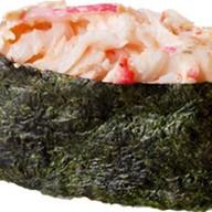 Острые суши с крабом Фото