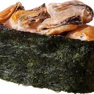 Острые суши с мидиями Фото