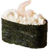 Суши с креветкой и сливочным сыром Фото