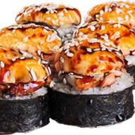 Запеченный угорь с лососем Фото