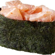 Острые суши с окунем Фото