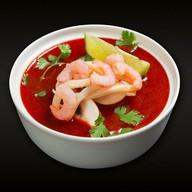 Тайский суп Том Ям Фото