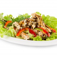 Салат с угрем Фото