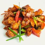 Курица в имбирно-чесночном соусе Фото
