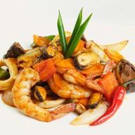 Пряные морепродукты Фото