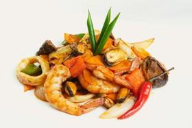 Пряные морепродукты - Фото