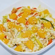 Салат Пантоуюй с курицей и апельсином Фото