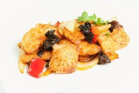 Филе тилапии с овощами - Фото
