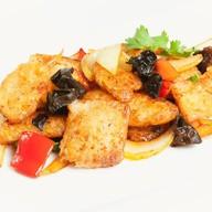 Филе тилапии с овощами Фото