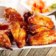 Куриные крылья на мангале Фото