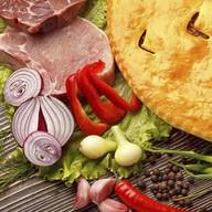 Осетинский пирог со свининой Фото