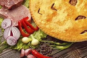 Осетинский пирог со свининой - Фото
