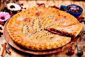 Осетинский пирог с лесными ягодами - Фото
