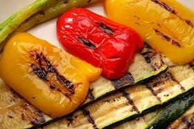 Болгарский перец на мангале - Фото