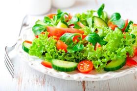Салат из свежих овощей - Фото