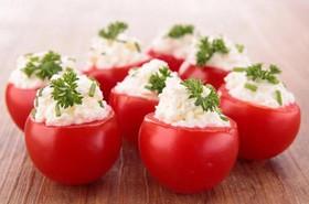 Фаршированные помидоры - Фото