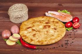 Осетинский пирог с рыбой и картофелем - Фото