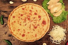 Осетинский пирог с курицей,сыром,грибами - Фото