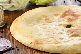 Осетинский пирог с капустой - Фото
