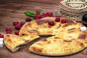 Осетинский пирог с малиной - Фото