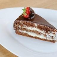Морковно-шоколадный торт Фото