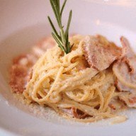 Карбонара спагетти Фото
