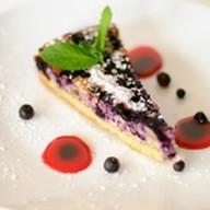 Творожно-черничный пирог Фото