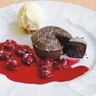 Шоколадный финаньсье Фото