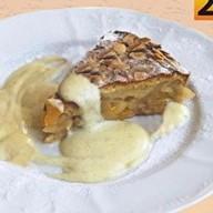 Яблочно-персиковый пирог Фото