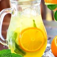 Лимонад апельсиновый натуральный Фото